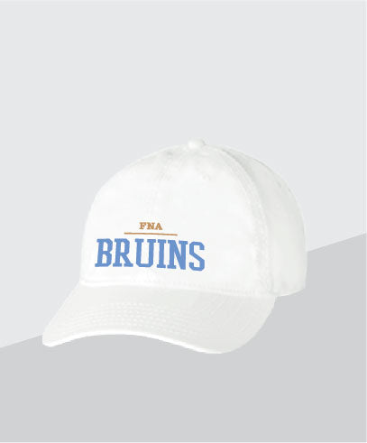 Bruins White Dad Cap