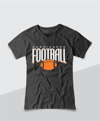 Hurricanes Ladies V-Neck Tee
