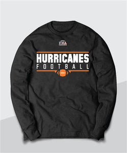 Hurricanes Gridiron Long Sleeve Tee