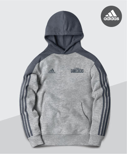Gamecocks Adidas Striped Sleeve Hoodie