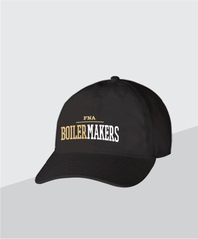 Boilermakers Black Dad Cap