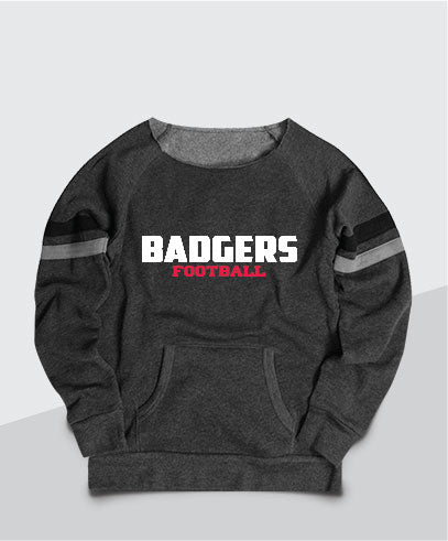 Badgers Ladies Scoop Neck