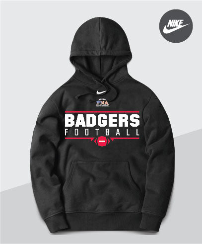 Badgers Nike Team Club Hoodie
