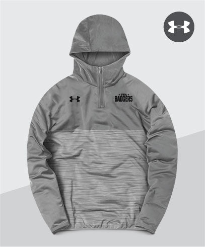 Badgers Under Armour Lightweight Tech Hoodie