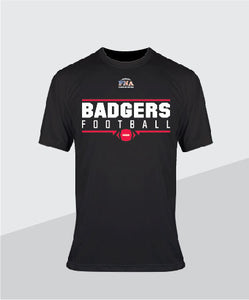 Badgers Youth  Performance Tee