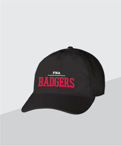 Badgers Black Dad Cap