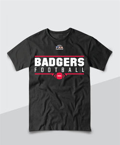 Badgers Gridiron Tee
