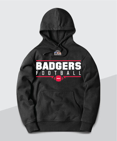 Badgers Gridiron Youth  Hoodie