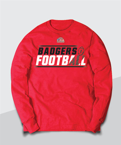 Badgers Competitive Youth Long Sleeve Tee