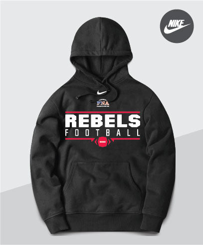 Rebels Nike Team Club Hoodie