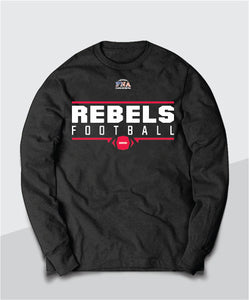 Rebels Gridiron Long Sleeve Tee