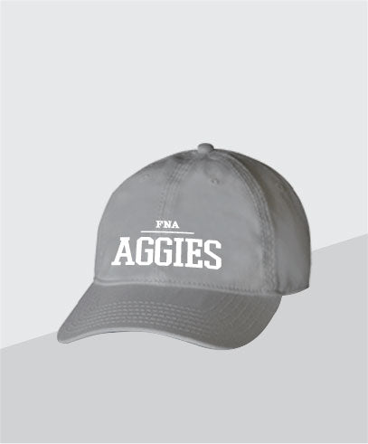 Aggies Grey Dad Cap