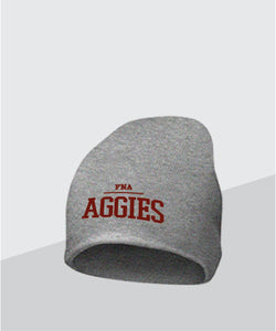 Aggies Grey Knit Cap