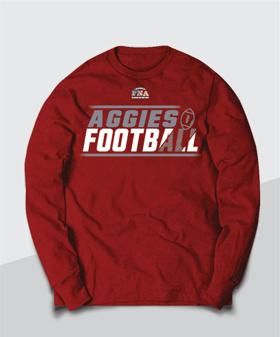 Aggies Competitive Youth Long Sleeve Tee
