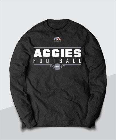 Aggies Gridiron Youth Long Sleeve Tee