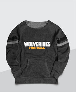 Wolverines Ladies Scoop Neck