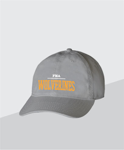 Wolverines Grey Dad Cap