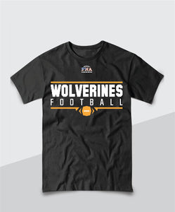 Wolverines Youth Gridiron Tee