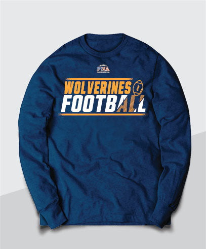 Wolverines Competitive Long Sleeve Tee