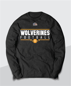 Wolverines Gridiron Long Sleeve Tee