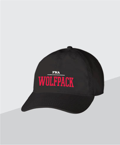 Wolfpack Black Dad Cap