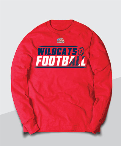 Wildcats Competitive Long Sleeve Tee