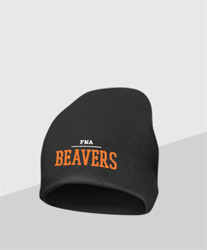Beavers Black Knit Cap