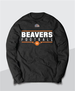 Beavers Gridiron Long Sleeve Tee