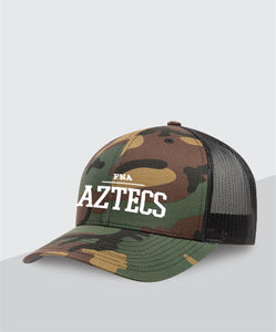 Aztecs Camo Trucker Hat