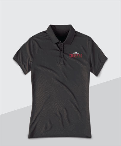 Cougars Ladies Performance Polo