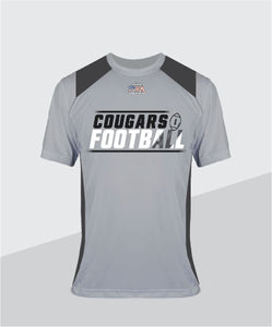 Cougars Color-Block Performance Tee