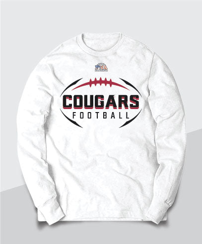 Cougars Legacy Long Sleeve Tee