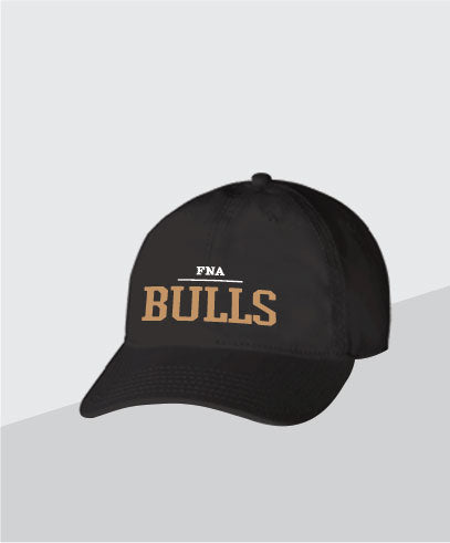 Bulls Black Dad Cap