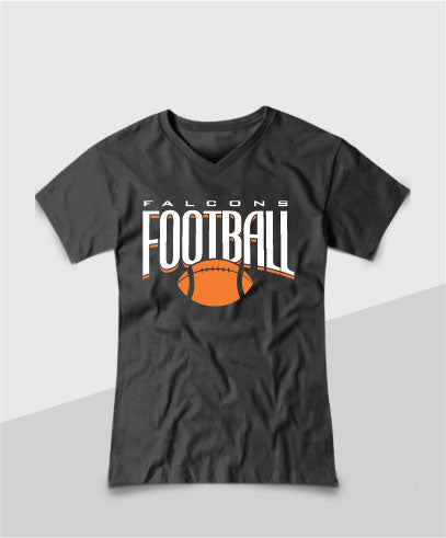 Falcons Ladies V-Neck Tee