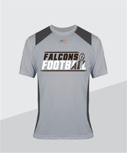 Falcons Color-Block Performance Tee