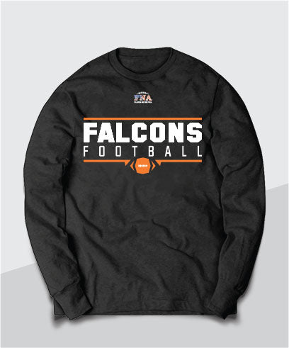 Falcons Gridiron Long Sleeve Tee