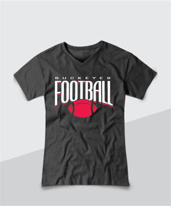 Buckeyes Ladies V-Neck Tee