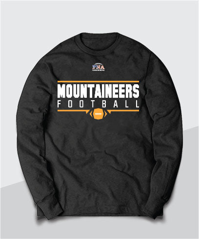 Mountaineers Gridiron Long Sleeve Tee
