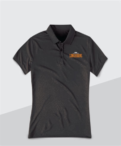 Longhorns Ladies Performance Polo
