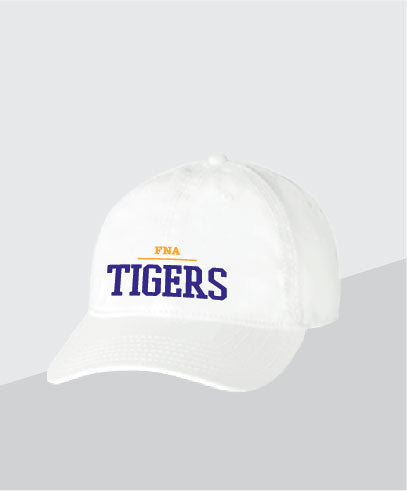 Tigers White Dad Cap