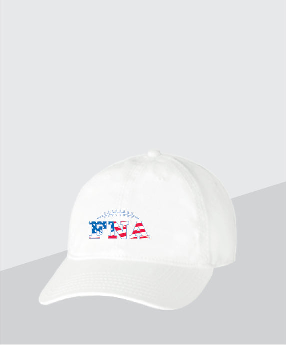 FNA- White Dad Cap