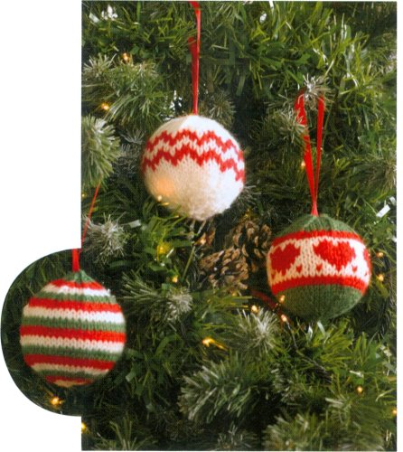 Christmas Knits Book 1 - Tree Ornaments