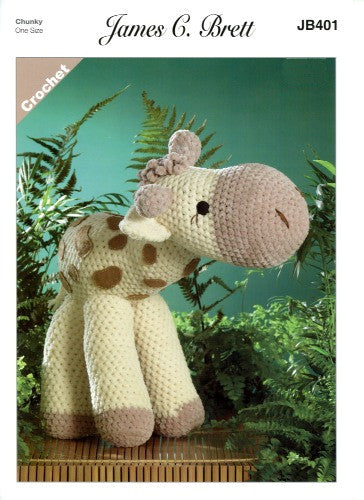Flutterby Pattern Leaflet JB401 - Sunshine the Giraffe