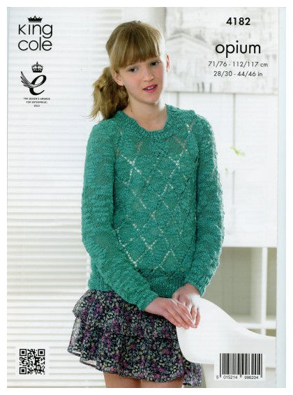 Opium Leaflet 4182 - Long Sleeved Pullover