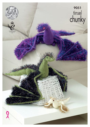 Tinsel Chunky Pattern Leaflet 9051