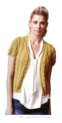Utterly Blissful - Lacy Lake Breeze Cardigan - short sleeves
