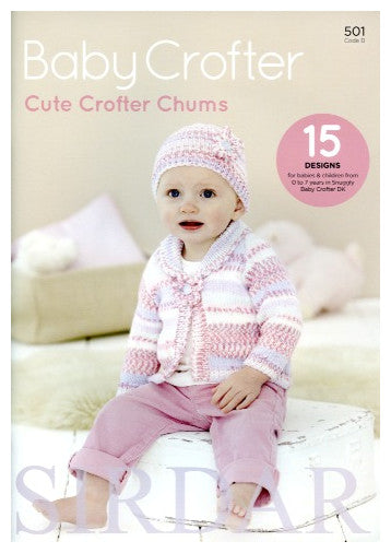 Sirdar Book 501 - Cute Crofter Chums - Cover