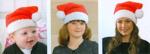 Christmas Knits Book 1 - Santa Hats for Everyone