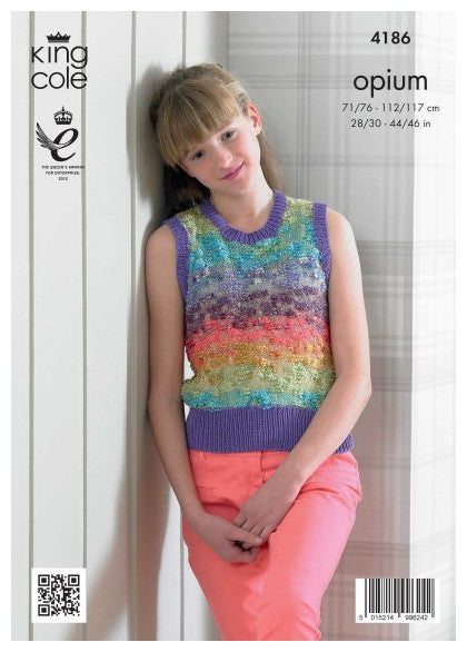 Opium Leaflet 4186 - Sleeveless Top
