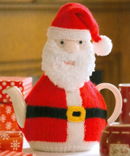 Christmas Knits Book 1 - Santa Tea Cozy